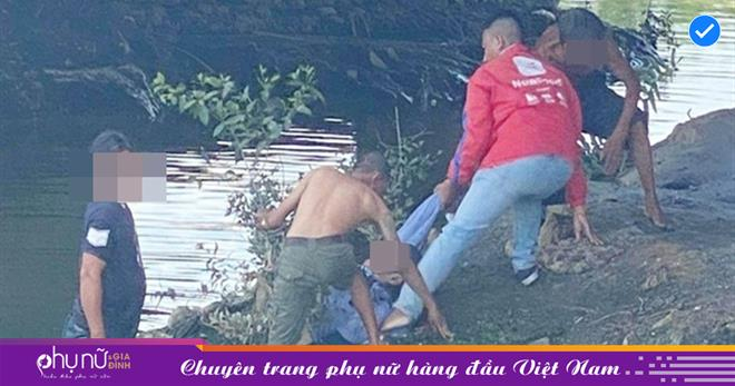 Cụ ông 68 tuổi leo qua lan can rồi nhảy xuống một con kênh ở TP.HCM