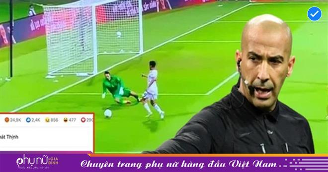 Đội tuyển Việt Nam thua quá nhanh trước UAE, Facebook trọng tài chính bị cộng đồng mạng thả phẫn nộ tăng theo từng giây!