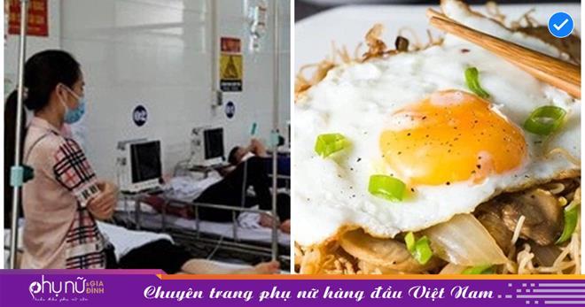Chuyên gia nhận định nguyên nhân hai cháu bé tử vong khi ăn mỳ tôm xào trứng