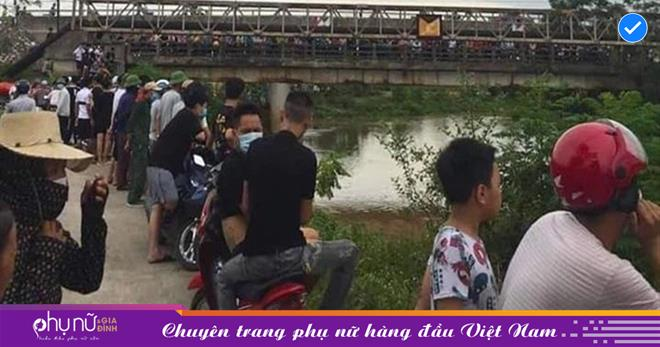Bỏ lại con nhỏ hơn 1 tuổi, người phụ nữ gieo mình xuống sông trước sự chứng kiến của nhiều người