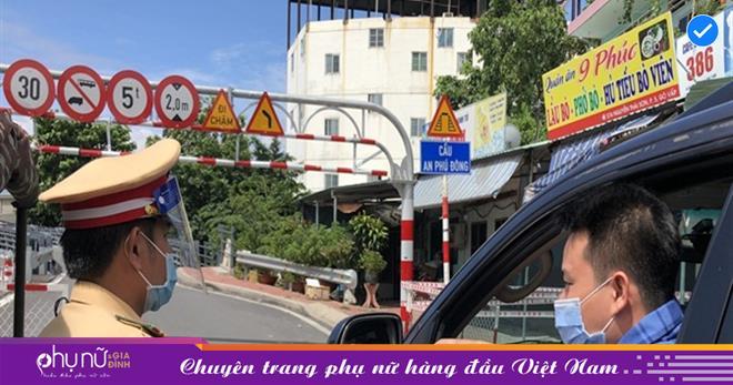 Hà Nội: Thêm 56 chốt kiểm soát dịch, tạm thời cấm hoạt động của các shipper