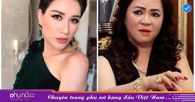 Trang Trần đáp trả 'lệnh cấm' của bà Phương Hằng: 'Việt Nam có cả ngàn khu du lịch, không phải mình chị mà phải cấm đoán'
