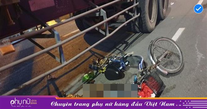 Xin đi nhờ xe đạp về nhà trọ, hai mẹ con cháu bé 3 tuổi gặp tai nạn, tử vong thương tâm