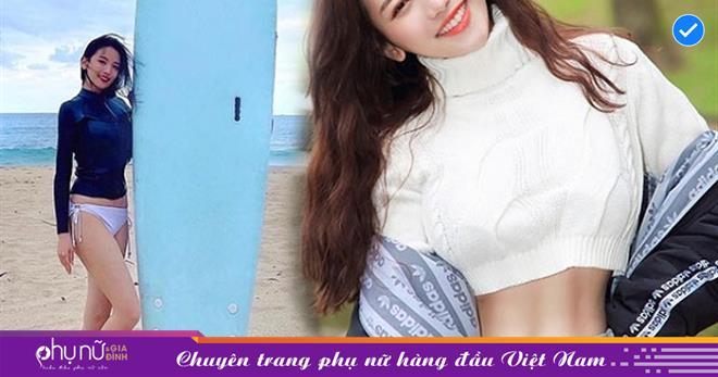 Cô gái xứ Đài 'GÂY SỐT' khi mặc đồ ngắn cũn cỡn khoe cơ bụng hình số 11 săn chắc VẠN NGƯỜI MÊ