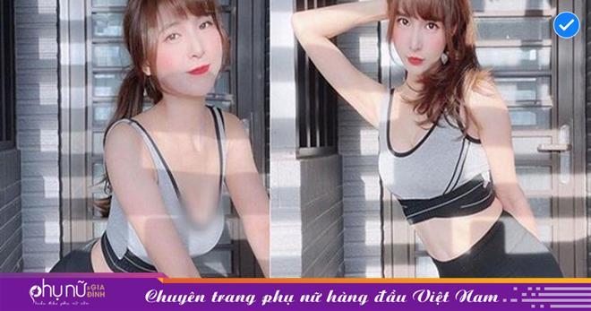 Hot girl thể thao có phong cách thời trang 'NỬA KÍN NỬA HỞ' làm lộ thân hình 'NÓNG BỎNG' đầy mê đắm
