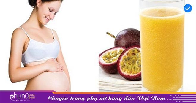 Những lợi ích bất ngờ từ chanh dây đối với sức khỏe mẹ bầu, bạn nên biết để bổ sung cho cơ thể