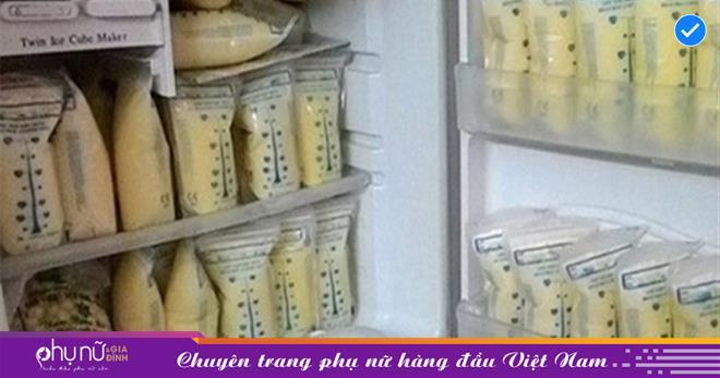 Những quy tắc bảo vệ sữa mẹ bạn phải hết sức lưu ý để con dùng không bị đau bụng