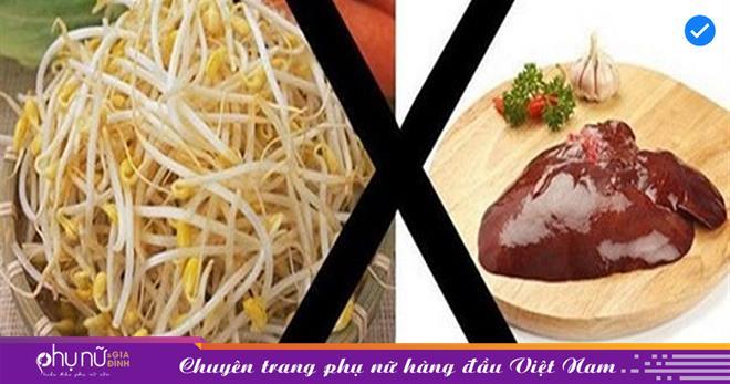 Tuyệt đối không được ăn những cặp thực phẩm 'kỵ nhau' này kẻo bị ngộ độc, tổn thương nội tạng như chơi