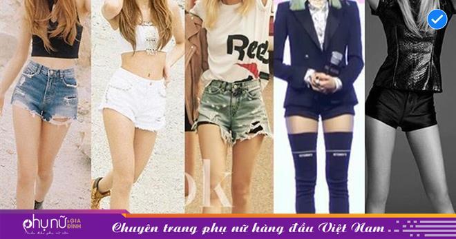Không phải Jisoo hay Jennie, hóa ra Lisa và Rosé mới sở hữu đôi chân xuất sắc, diện quần short đẹp nhất BLACKPINK