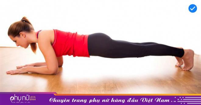 Bài tập plank '2 trong 1' giúp bạn có vòng bụng phẳng lì không cần đến phòng gym