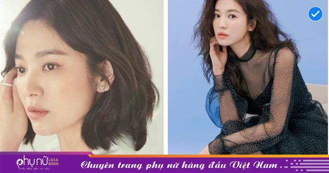 """Vạn kiếp bị chê nhạt nhưng Song Hye Kyo lại là người có style tóc """"tắc kè hoa"""" nhất trong số ngũ đại mỹ nhân Kbiz"""