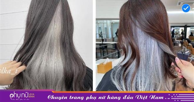 """Kiểu tóc nhuộm nửa đầu nhìn không hề """"hư hỏng"""": Ghim ngay để hết dịch là đặt lịch làm tóc"""