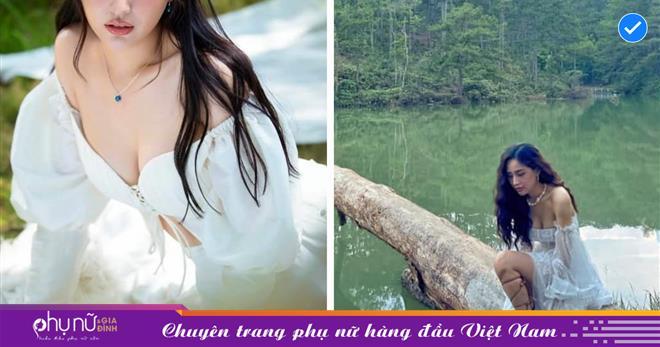 Hoa hậu Mai Phương Thúy hóa 'người đẹp bên hồ', khoe vòng 1 gần 100cm, fan hâm mộ xuýt xoa vì 33 mà vẫn đẹp như gái đôi mươi