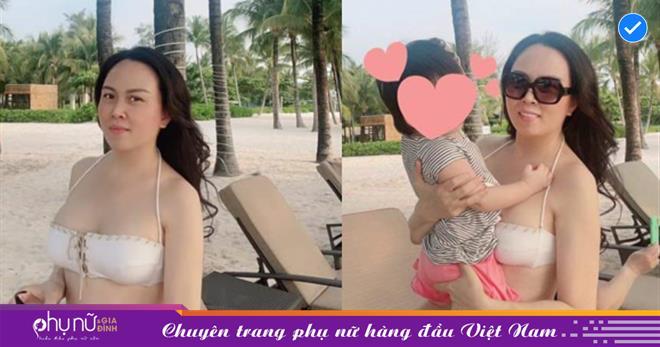 Hậu chia tay, Phượng Chanel khoe ảnh gợi cảm cùng con gái chung với Quách Ngọc Ngoan
