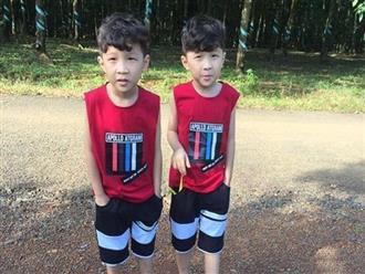 Đã tìm thấy 2 bé trai sinh đôi 7 tuổi tại một căn chòi trong rẫy cao su, cách nhà khoảng 1km