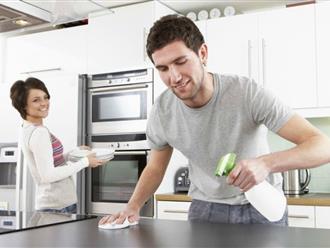 """Tuyệt chiêu """"dụ"""" chồng làm việc nhà"""