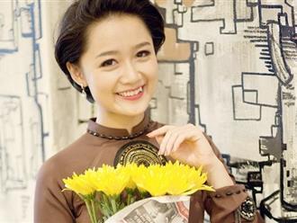 Ngoại hình xinh đẹp của nữ BTV trẻ nhất bản tin thời sự VTV