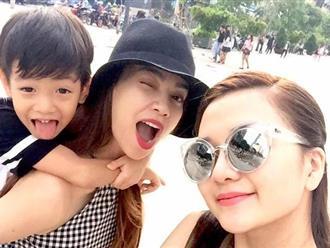 Hồ Ngọc Hà đưa Subeo đi chơi cùng Thiều Bảo Trang