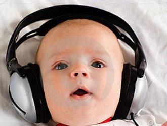 Những điều lí thú về âm nhạc và trẻ sơ sinh