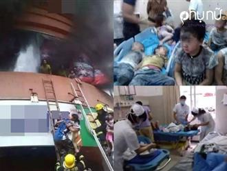 Cháy trường mầm non, hàng trăm trẻ em nhập viện nguy cấp