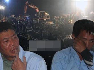 """Vụ sập giàn giáo ở Hà Tĩnh: """"Miệng tôi đầy bê tông..."""""""