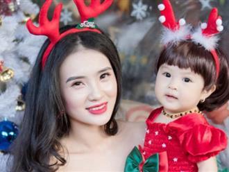Em gái Công Vinh khoe con gái xinh như thiên thần ngày Tết