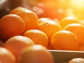 Giảm nguy cơ đột quỵ nhờ nước cam