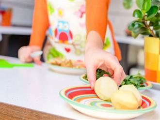 Phụ nữ mang thai không nên ăn quá 1 bữa khoai tây mỗi tuần