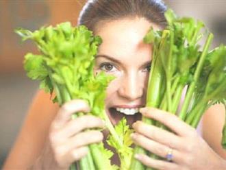 Chữa huyết áp cao và tiểu đường bằng rau cần tây