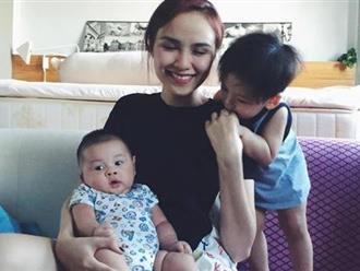 Hoa hậu Diễm Hương lên tiếng về tin đồn bí mật sinh con thứ 2
