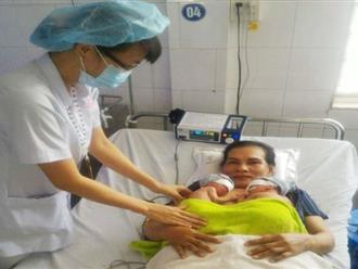Sản phụ mang tam thai bị tiền sản giật nặng được mổ thành công