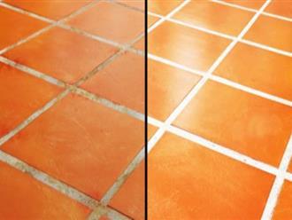 Đủ mẹo sạch nhà vệ sinh, sáng bóng sàn nhà mà không hại da tay