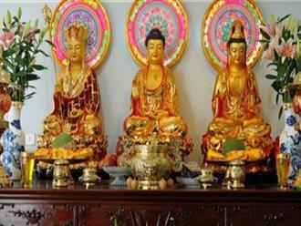 Những điều cần biết và kiêng kỵ khi thờ Phật tại nhà