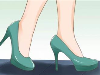 10 lưu ý để đi giày cao gót điêu luyện mà không bị đau chân