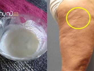 Chà thứ này tuần 3 lần, chứng da sần vỏ cam trên mông và đùi sẽ biến mất sạch