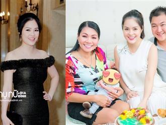 Dương Cẩm Lynh: 'Tôi cảm thấy may mắn sau sinh em bé'