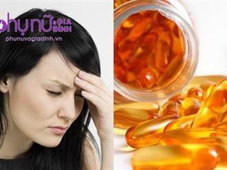 Cảnh báo: Thiếu vitamin này, nguy cơ mắc bệnh đau nửa đầu tăng 300%
