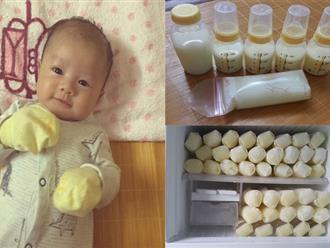 Mỗi cữ hút được cả lít sữa, đem tặng 200 lít, đây chính là mẹ 'bò sữa' chính hiệu!