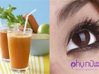Uống 1 ly này mỗi ngày, phục hồi thị lực cấp tốc, cả đời không lo bệnh về mắt