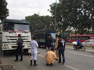 Hà Nội: Nam thanh niên bị xe trộn bê tông đâm tử vong thương tâm