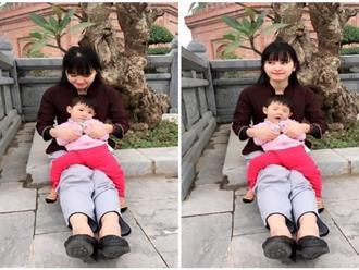 Cái Tết đầu tiên ấm áp nụ cười của em bé Lào Cai suy dinh dưỡng bên mẹ nuôi 9X