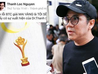 Thành Lộc không dự lễ trao giải Mai Vàng vì Dr. Thanh