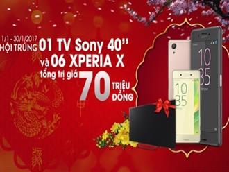 Sony dành 70 triệu đồng tặng quà cho khách hàng