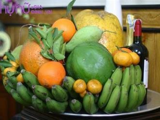 Mẹo hay: Giữ trái cây trên mâm ngũ quả tươi lâu trong ngày Tết