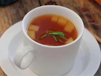 Trời lạnh, pha trà theo cách này vừa ấm người vừa phòng cảm cúm