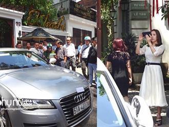 Siêu xe Audi của hoa hậu Thu Hoài bị ông Đoàn Ngọc Hải cẩu về phường