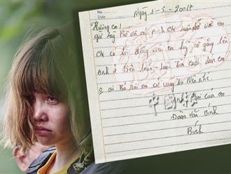 Anh trai Đoàn Thị Hương viết thư cho em: Anh ở bên luôn luôn tìm cách giúp em!