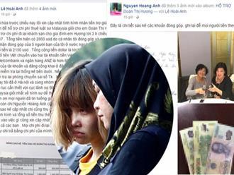 Mạng xã hội kêu gọi quyên góp hỗ trợ chi phí cho gia đình Đoàn Thị Hương
