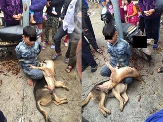 Vây bắt trộm chó, tưởng sẽ bị đánh thừa sống thiếu chết, dân làng làm điều này khiến dân mạng ngã ngửa