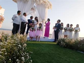 Nguyệt Ánh và chồng Ấn Độ thề có nhau đến cuối đời trong hôn lễ